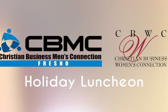 CBWC Fresno & CBMC Fresno Holiday Lunch 2015 With Michael Stain