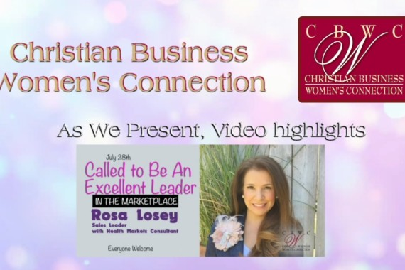CBWC Fresno Presents Rosa Losey by Websovid Media